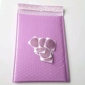 """NEW 10 pcs Lilac Bubble Mailers 7""""x10"""" In (Inside)"""